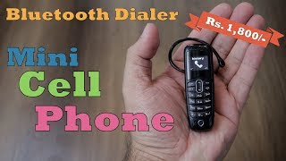 A20 Mini Cell Phone plus Bluetooth Headphone Dialer Rs. 1,800 approx