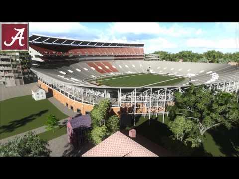 Bryant-Denny Stadium Historical Animation
