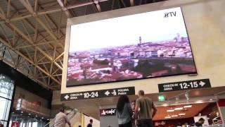 A Malpensa il più grande schermo a led indoor presente oggi negli aeroporti italiani