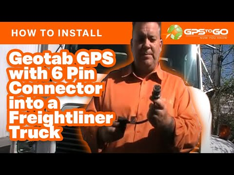 how to install gps device on freight liner w 6 pin connector how to install gps device on freight liner w 6 pin connector
