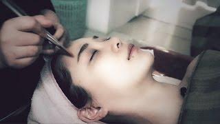 ASMR 스킨케어 샵 직접 체험!! Relaxing Facial Massage 한국어 ASMR (Eng Sub)