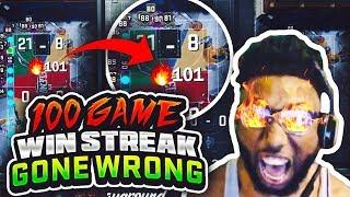 100 GAME WINNING STREAK GONE WRONG!! 2K REALLY LET THIS HAPPEN!? SMFH!😡 NBA 2K18