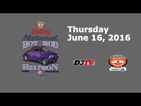 Holley National Hot Rod Reunion presented by AAA Insurance -Thursday