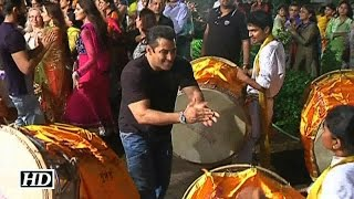 Salman Khan in Full Mood during Ganpati Visarjan | Un-Cut Event Video