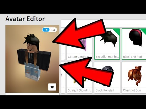 How To Wear 2 Hairs Roblox