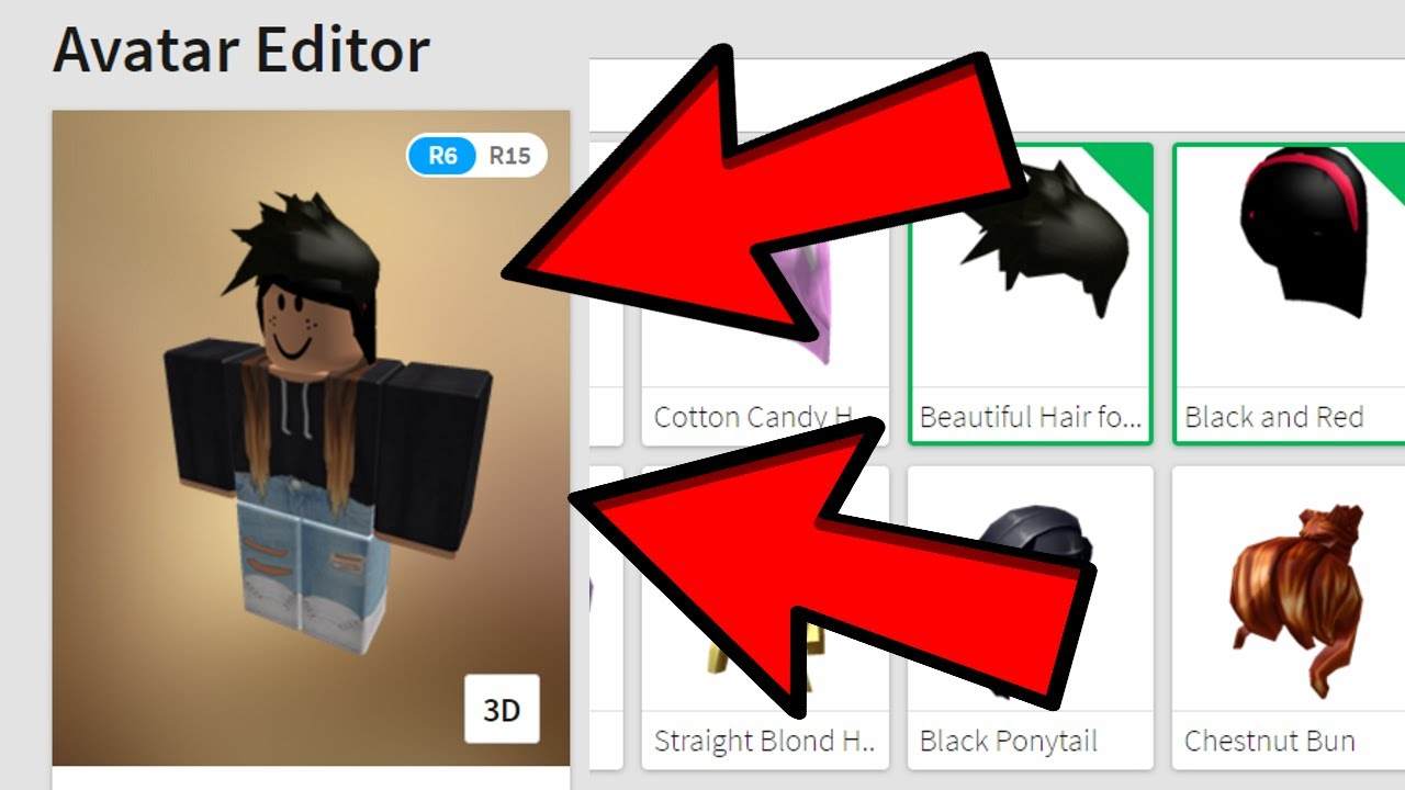 How To Wear 2 Hairs On Roblox 2019 2 Robux Hair