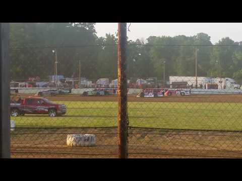 6\3\17 Brownstown speedway late model heat 1