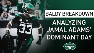 Baldy Breakdown: 'Jamal Didn't Miss Any Tackles Sunday'   New York Jets   NFL