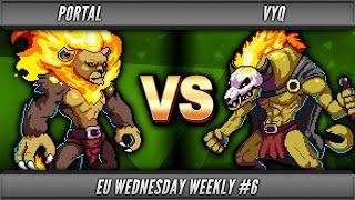 Rivals of Aether - Portal (Zetterburn) vs vyQ (Forsburn)  - EU WW#6 WR1