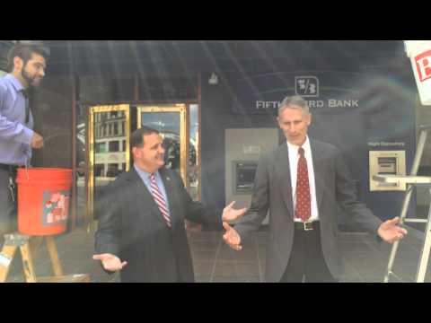 Real Men Do It in Suits:  Steve Petitjean and Alan Schaeffer ALS Bucket Challenge