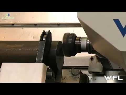 Camshaft work on CNC machine How it works take a look