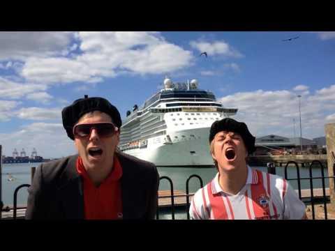 The Red Stripez - Southampton in Europa 2016