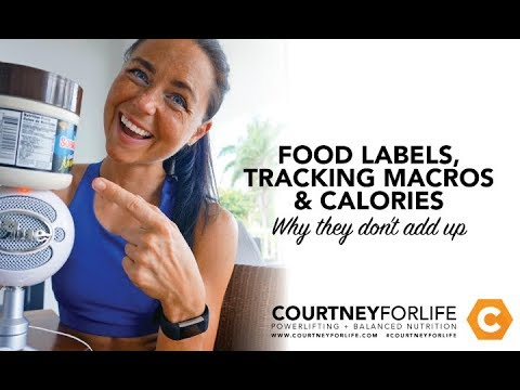 Food Labels, Macros & Calories