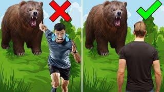 10 วิธีเอาตัวรอดจากสัตว์เมื่อคุณเดินเข้าป่า จะทำอย่างไรดีนะ ? (ทริคเจ๋งๆ)
