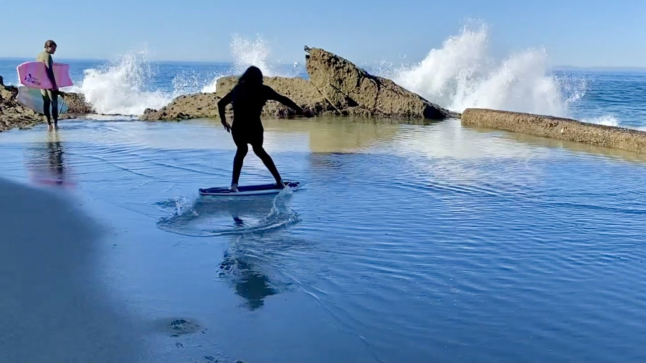 A Day In The Life with Professional Skimboarders!