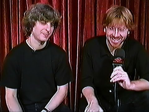 Phish Full Interview with Trey & Mike, New York, NY (6/28/00)