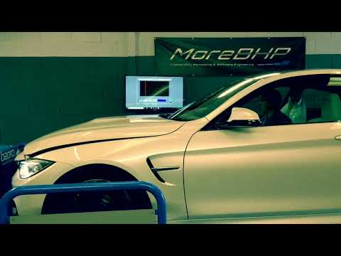 BMW M3 and M4 S55 Custom ECU Remap by More BHP
