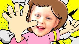 РАЗ ЛАДОШКА, Два Ладошка Детская песенка Костюмы Шопкинс Песни для детей Kids Video Song for Kids