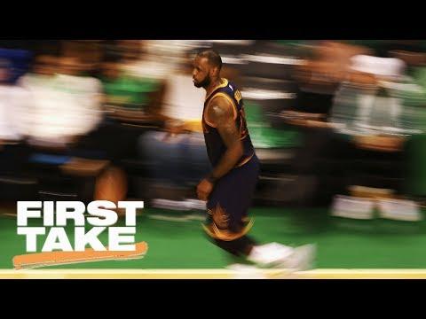 LeBron James Has An Underrated NBA Postseason Career | First Take | May 26, 2017