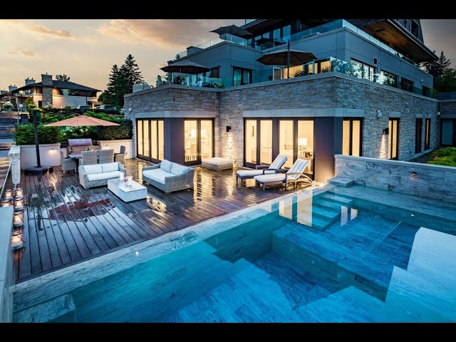 Modern Lakefront Home in Oakville, Ontario, Canada   Sotheby's International Realty