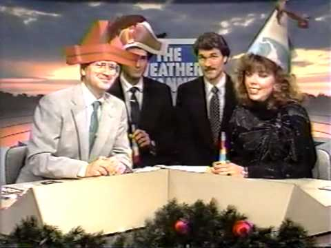 The Weather Channel New Years Celebration Jan 1st 1988