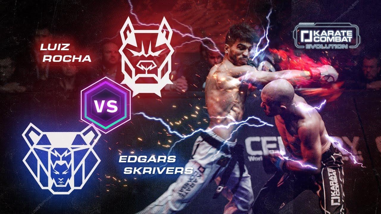 Karate Combat Evolution: Luiz Rocha vs Edgars Skrivers (4K Hero Cut)