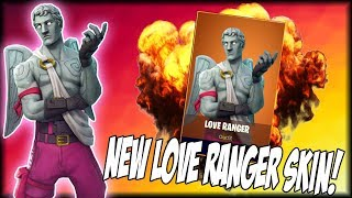 "NEW ""LOVE RANGER"" SKIN! (Fortnite Battle Royale)"