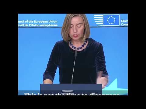 Joint press statements by Federica Mogherini and Mahmoud Abbas