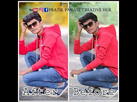 How to edit blur pic in photoshop | Photoshop Tutorial thumbnail