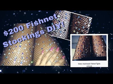 Lirika Matoshi Starry Fishnets DIY!!