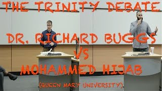 Big Trinity Debate: Dr. Richard Buggs vs Br. Mohammed Hijab - Queen Mary Uni of London