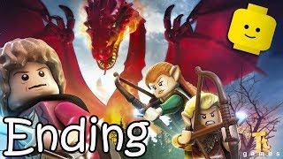 THE HOBBIT LEGO Cartoon Games Videos for Kids Children - Smaug & The Arkenstone: Ending
