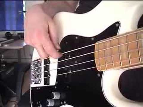 U2: With Or Without you (Beginner Bass Lesson) - YouTube