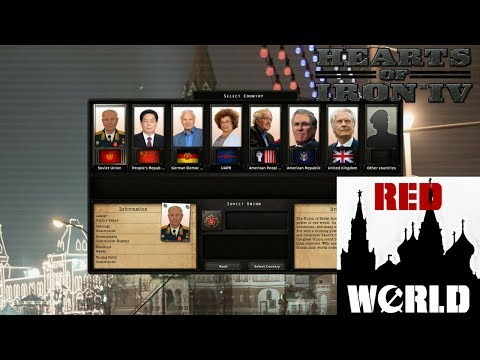 Hearts of Iron IV Red World American Republic! Episode 3: Liberations!