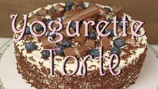 Yogurette Torte selber machen - leichte Torten backen - Sahnetorten