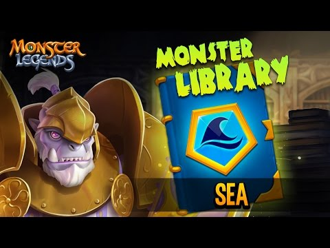 Monster Library - Sea Book