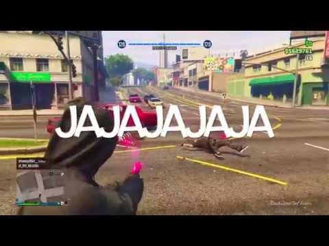 The Time When Ben Got Trolled (Flare Gun Kill) - GTA 5 Online