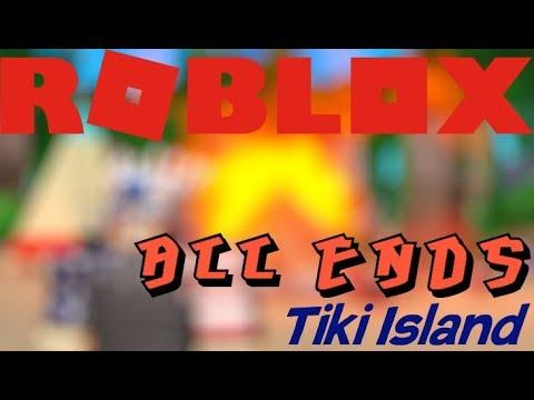 All Endings In Tiki Island Roblox Youtube