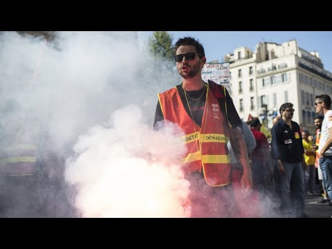 """Mobilisation nationale : à Marseille, """"on craint dégun, on continue !"""""""