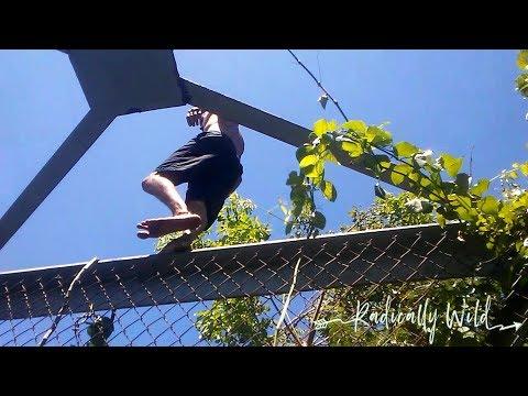 Walking Barefoot Over Hot Puente(Bridge) La Bellaca, Quebradilla, Puerto Rico