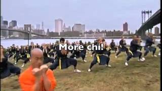 Motivation video, featuring Sifu Shi Yan Ming