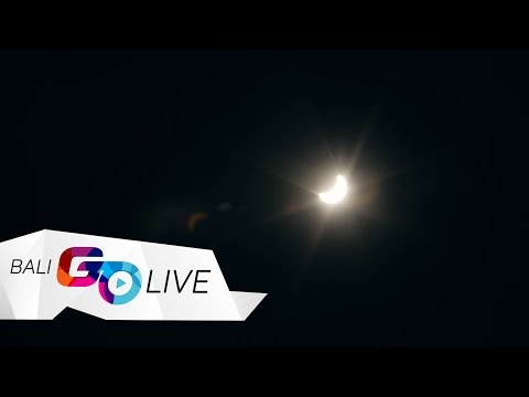 SOLAR ECLIPSE VIDEO FROM BALI