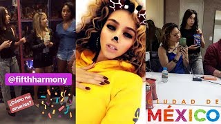 Download Video FIFTH HARMONY | INSTA/SNAP STORIES - August 18, 2017 MP3 3GP MP4