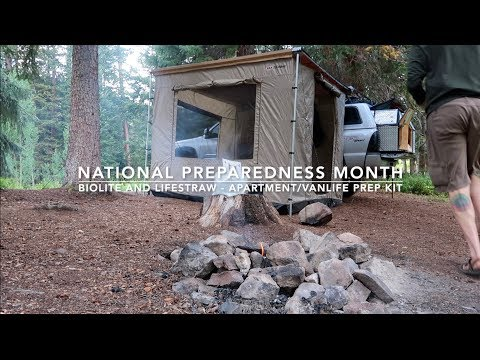 Truck Camping / Van Life / Off-Grid Cabin / Apartment Prep Kit