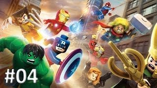 LEGO MARVEL - Super Heroes #04  / Homem de ferro / Hulk / Wolverine | PT-BR |