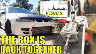 BOX IS REBUILT, KEVLAR CLUTCH & TEST RESULTS!