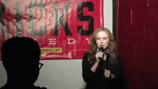 First time doing stand up (HD) - Francesca Aiello