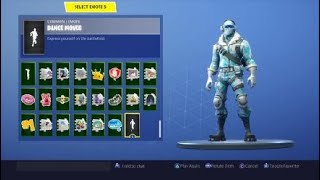 "FORTNITE ""FROSTBITE"" SKIN WITH DIFFERENT EMOTES/DANCES (Deep Freeze Bundle)"