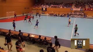 2019年IH ハンドボール 男子 準々決勝 愛知(愛知)VS 大体大浪商(大阪)