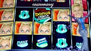 Ellen Slot Machine - **NEW GAME** - Slot Machine Bonus(++Please subscribe :-) http://www.youtube.com/subscription_center?add_user=casinomannj Ellen Slot Machine Bonus - NEW GAME! Here is the new Ellen Slot ..., 2014-12-31T18:59:39.000Z)